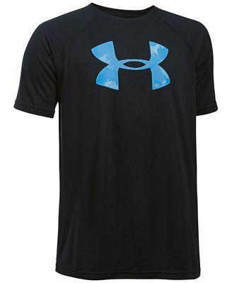 Under Armour Kids T-Shirt, Boys Big Logo Tee
