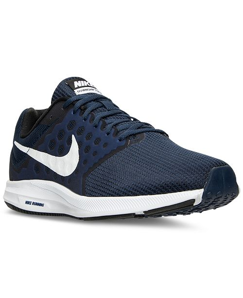 hot sale online 2bce6 19f83 Nike Men's Downshifter 7 Wide Running Sneakers from Finish ...