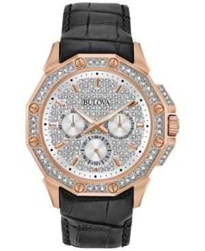 Bulova Men's Crystal-Accent...