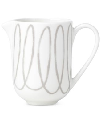Charlotte Street Grey Collection Creamer