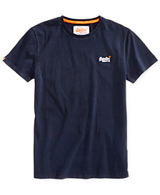 Superdry Men's Vintage Embroidered-Logo Cotton T-Shirt