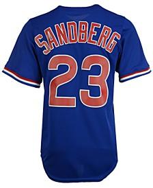 Men's Ryne Sandberg Chicago Cubs Cooperstown Player Replica CB Jersey