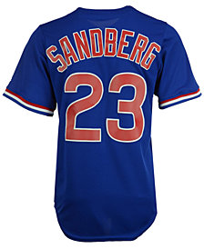 Majestic Men's Ryne Sandberg Chicago Cubs Cooperstown Player Replica CB Jersey