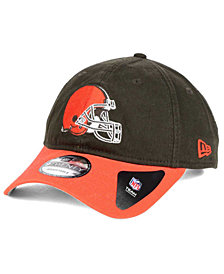 New Era Cleveland Browns Relaxed 2Tone 9TWENTY Strapback Cap