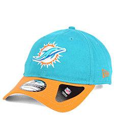 New Era Miami Dolphins Relaxed 2Tone 9TWENTY Strapback Cap