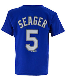 Majestic MLB Corey Seager T-Shirt, Little Boys (4-7)