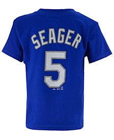 Majestic MLB Corey Seager T-Shirt, Little Boys (4-7)