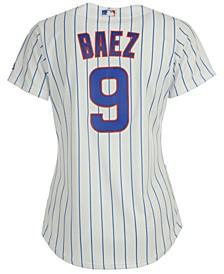 Women's Javier Baez Chicago Cubs Cool Base Player Replica Jersey