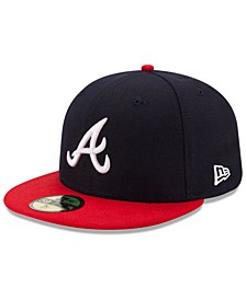 Atlanta Braves Authentic Collection 59FIFTY Cap