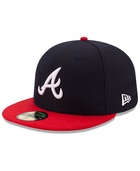 New Era Atlanta Braves Authentic Collection 59FIFTY Cap