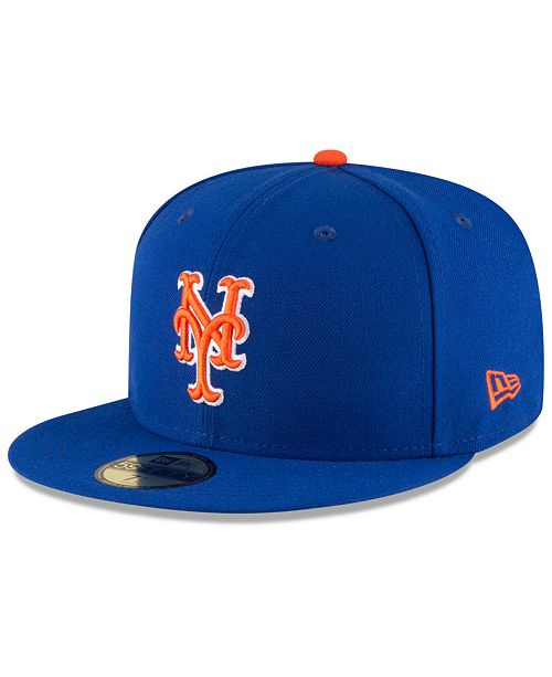New Era New York Mets Authentic Collection 59FIFTY Cap - Sports Fan ... e4858e0247