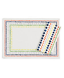 kate spade new york Hopscotch Drive Cotton Napkin