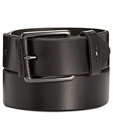 Men's Nose-Wrap Leather Belt