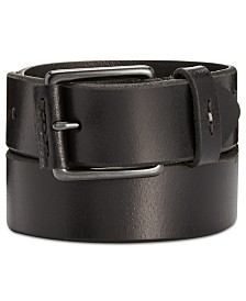 Levi's Men's Nose-Wrap Leather Belt