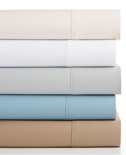 Sunham CLOSEOUT! Bainbridge 4-Pc Sheet Sets, 1400 Thread Count, Fairfield Square Collection, Created for Macy's