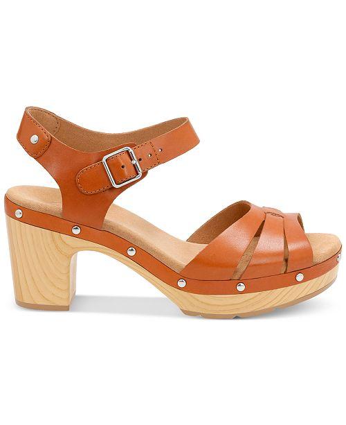 667c17d22300 Clarks Women s Ledella Trail Platform Sandals   Reviews - Sandals ...
