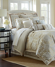 Waterford Reversible Olivette California King 4-Pc. Comforter Set