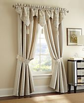 """Waterford Olivette 21"""" x 55"""" Ascot Window Valance"""