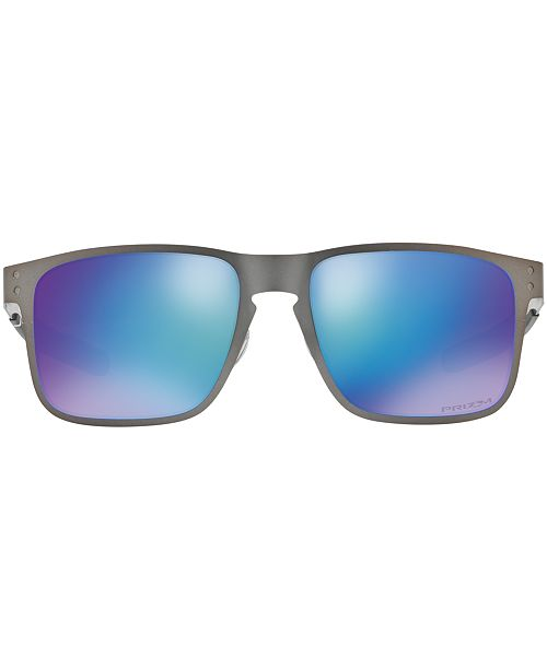 854514a6643 ... Oakley Polarized Holbrook Metal Prizm Sapphire Sunglasses