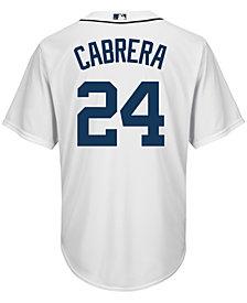 Majestic Men's Miguel Cabrera Detroit Tigers Player Replica CB Jersey