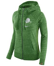 Nike Women's Oregon Ducks Vintage Full-Zip Hoodie