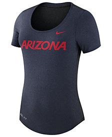 Nike Women's Arizona Wildcats Dri-Blend Scoop T-Shirt