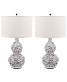 Safavieh Set of 2 Nicole Bead Table Lamps