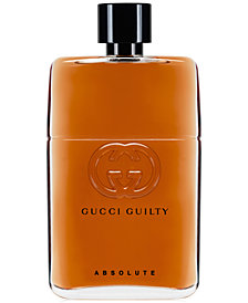 Gucci Guilty Men's Absolute Eau de Parfum Spray, 3 oz