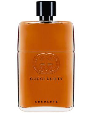GUCCI Guilty Men'S Absolute Eau De Parfum Spray, 3 Oz