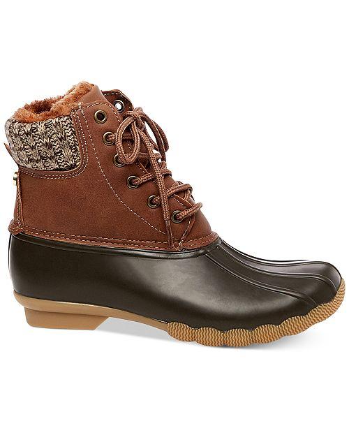 a154a16e54c Steve Madden Women's Tillis-S Duck Booties & Reviews - Boots - Shoes ...