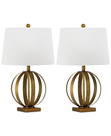 Safavieh Set of 2 Eugenia Table Lamps