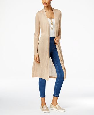 Thalia Sodi Open-Front Duster & Jeggings, Only at Macy's