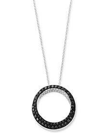 Caviar by EFFY® Diamond Pendant Necklace (5/8 ct. t.w.) in 14k White Gold