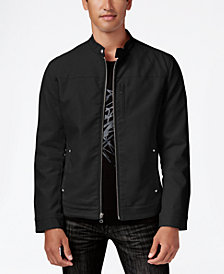I.N.C. Men's Lukas Faux-Leather Jacket, Created for Macy's