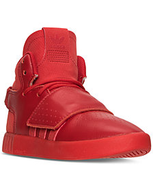 adidas Little Boys' Tubular Invader Strap Mono Casual Sneakers from Finish Line
