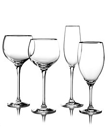 Lenox Stemware, Solitaire Platinum Signature Collection