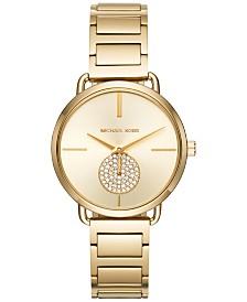 Michael Kors Women's Portia Stainless Steel Bracelet Watch 36mm