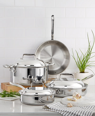 All-Clad d7 Stainless Steel 7-Pc. Cookware Set