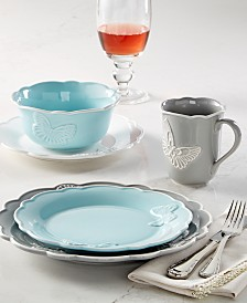 Lenox Butterfly Meadow Carved Dinnerware Collection