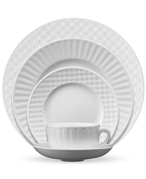 Wedgwood Dinnerware, Night and Day 5-Piece Place Setting
