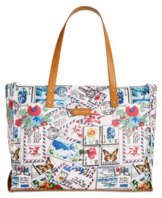Image of Giani Bernini Nylon Foldable Packable Tote, Only at Macy's