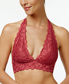 Free People Galloon Halter Bralette OB590926