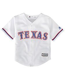 Majestic Texas Rangers Blank Replica CB Jersey, Baby Boy (12-24 months)