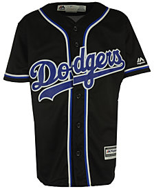 Majestic Los Angeles Dodgers Blank Replica Jersey, Big Boys (8-20)