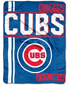 "Northwest Company Chicago Cubs Micro Raschel 46x60 ""Walk Off"" Blanket"