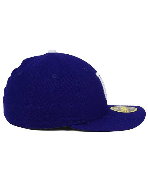 09b9028798b New Era Los Angeles Dodgers Low Profile AC Performance 59FIFTY Cap ...