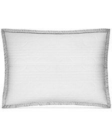 CLOSEOUT!  Engineered Dots Quilted Standard Sham, Created for Macy's