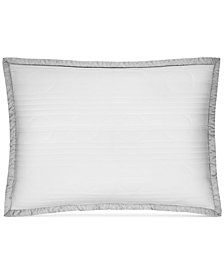 CLOSEOUT! Hotel Collection  Engineered Dots Quilted Standard Sham, Created for Macy's