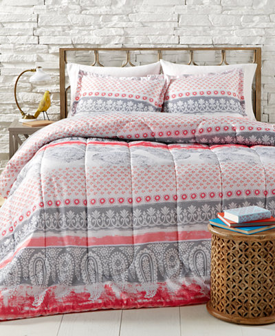 CLOSEOUT! Lima 3-Pc. Reversible Comforter Sets