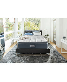 "CLOSEOUT! Beautyrest Silver Golden Gate 13.75"" Luxury Firm Pillow Top Mattress Collection"